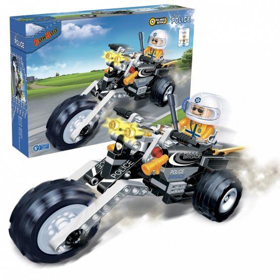 Set constructie Motocicleta 3 roti, Banbao