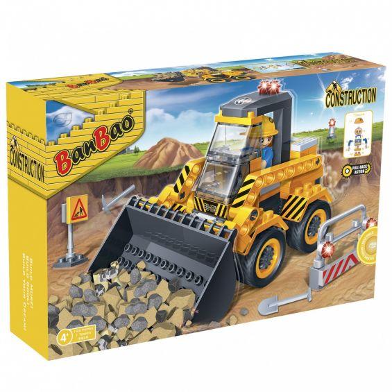 Set constructie Excavator mic, Banbao