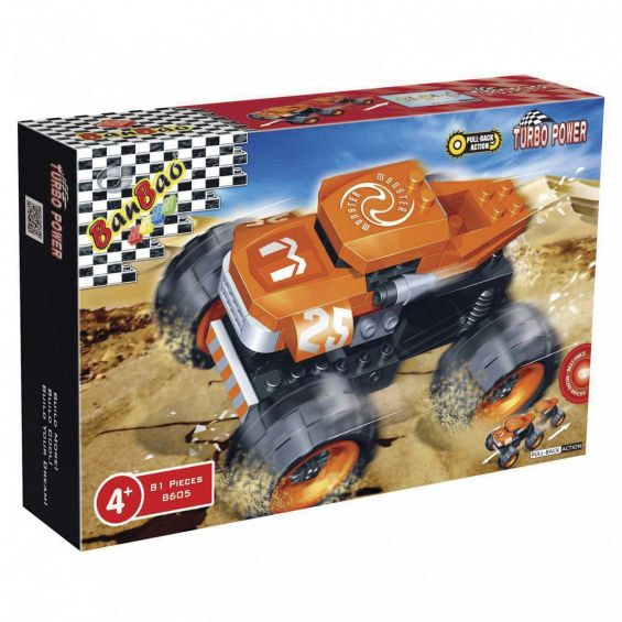 Set constructie Racer Monster, Banbao