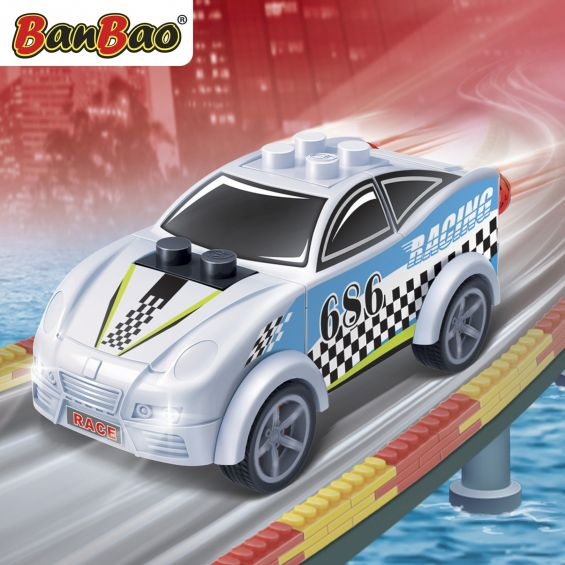 Set constructie Raceclub Blizzard, Banbao
