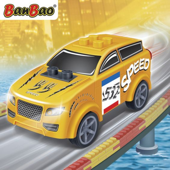 Set constructie Raceclub Moxy, Banbao