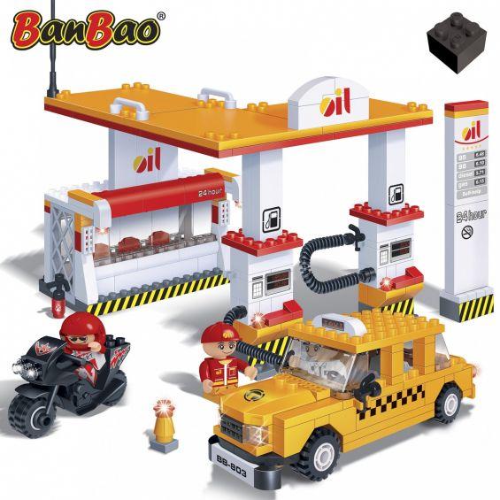 Set constructie Statie benzina, Banbao