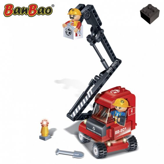 Set constructie Macara reparatii, Banbao