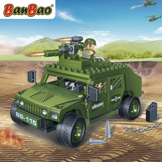 Set constructie Hummer, Banbao