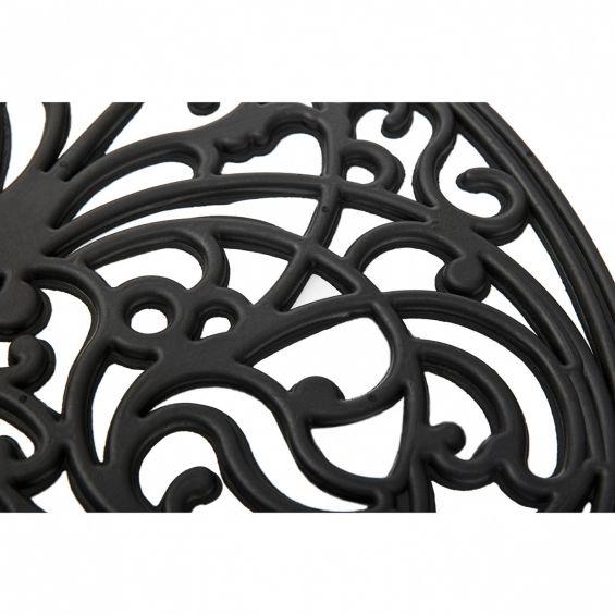 Pres semiluna, fier forjat, 75x45 cm, model 1