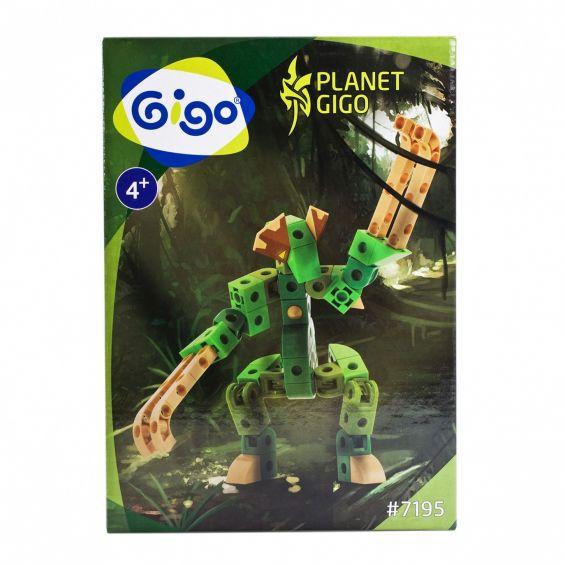 Set constructie Luptatorul junglei, Gigo