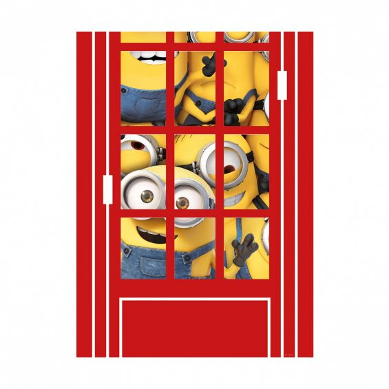 Sticker pentru perete, Cabina telefonica