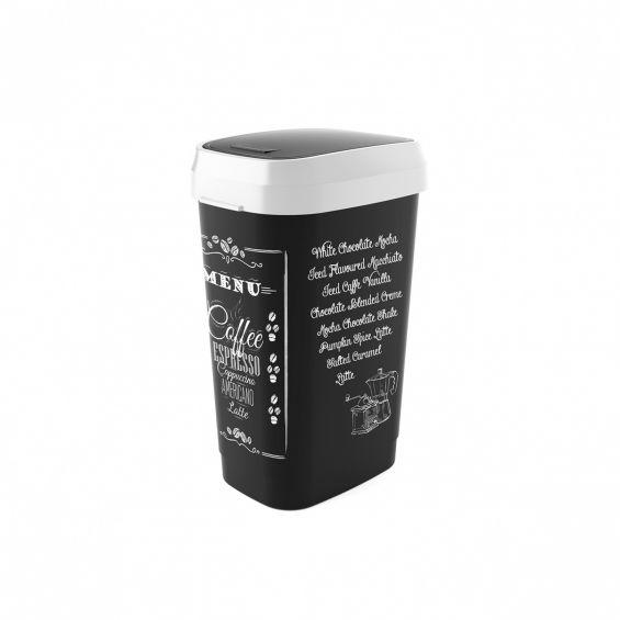Cos gunoi, Style L, Coffee