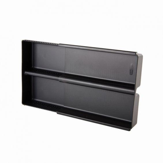 Tava tacamuri, pentru sertar, ajustabila, 2-4 compartimente, Rubbermaid