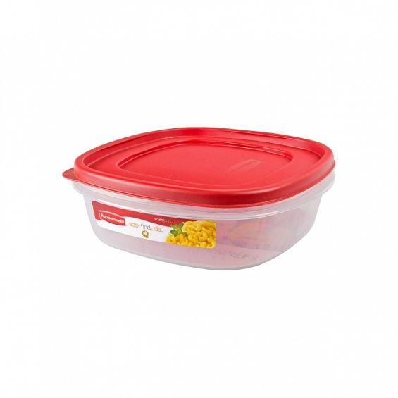 Cutie alimente, patrata, 2,1 litri, Easy Find Lids
