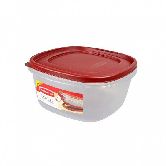 Cutie alimente, patrata, 3,3 litri, Easy Find Lids