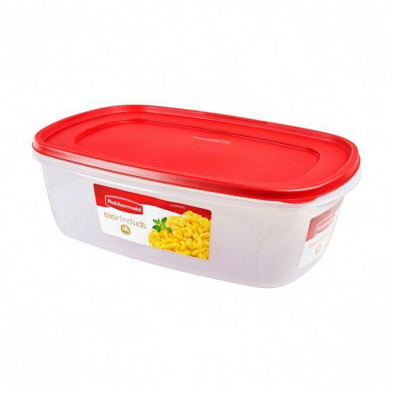 Cutie alimente, dreptunghiulara, 9,5 litri, Easy Find Lids