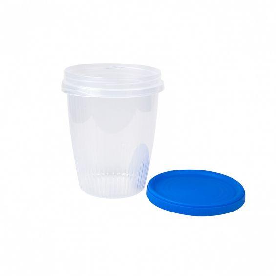Cutie alimente rotunda, 1,05 litri, Rosca