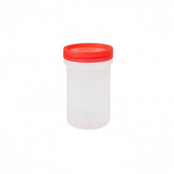 Cutie rotunda cu capac, 400 ml, Diadia