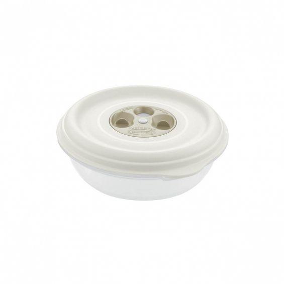 Cutie microunde, rotunda, 1 litru, Fresh Wave