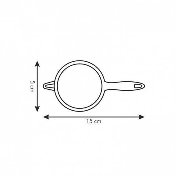 Strecuratoare inox, diametru 5 cm, Presto