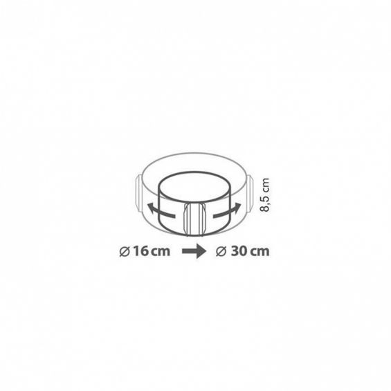 Forma ajustabila, rotunda, Delicia