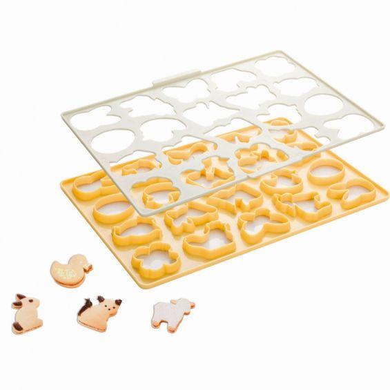 Tipar biscuiti Paste, 33x23 cm, Delicia