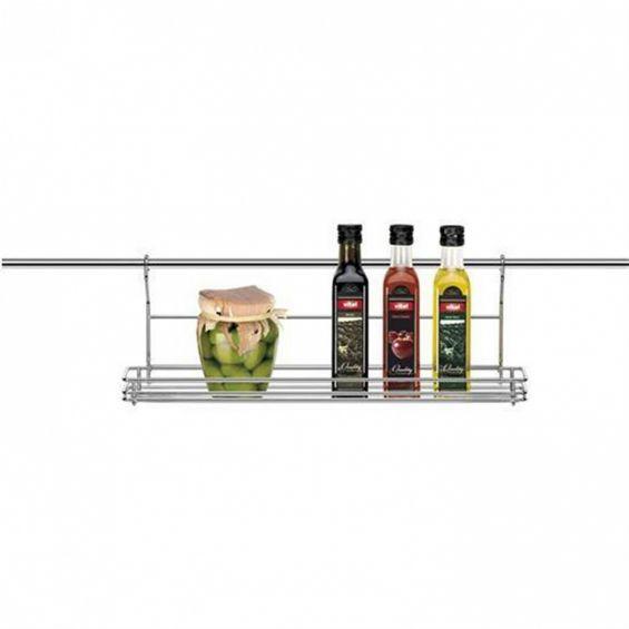 Raft din inox pentru condimente, 45x13 cm, Monti