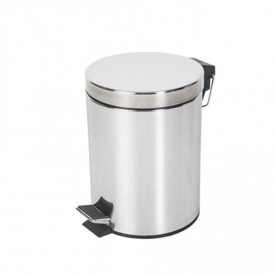 Cos gunoi, 5 litri, Promo Inox