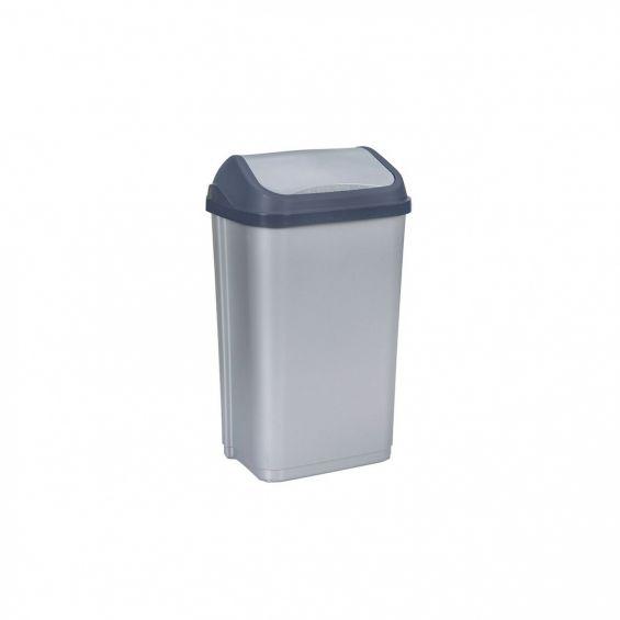 Cos gunoi cu capac batant, 50 litri