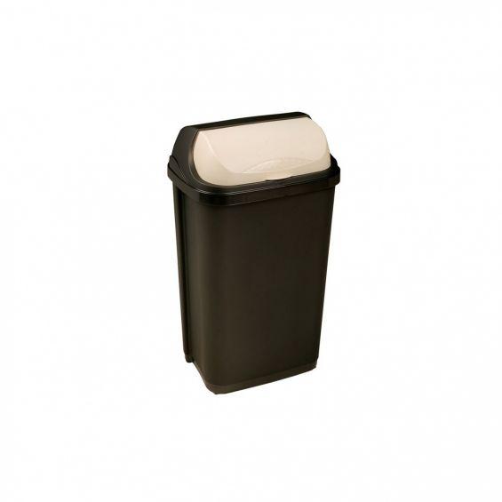 Cos gunoi cu capac glisant, 25 litri