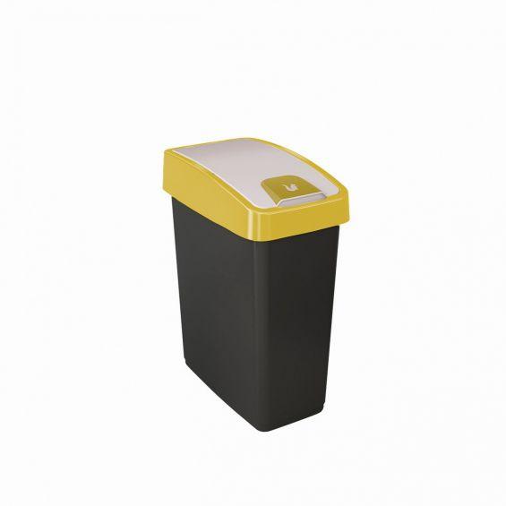 Cos gunoi cu deschidere dubla, 25 litri