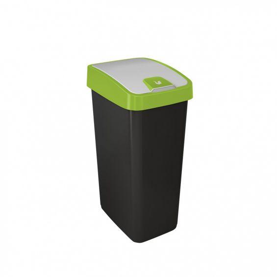 Cos gunoi cu deschidere dubla, 45 litri