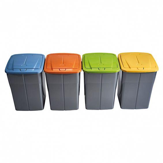 Cos gunoi, 45 litri, Ecobin