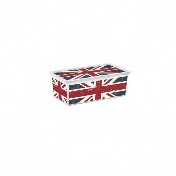 Cutie depozitare, 11 litri, C Box, Union Jack S