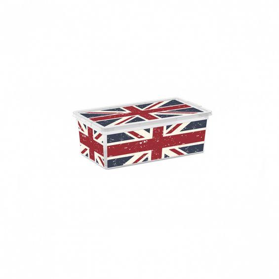 Cutie depozitare, 18 litri, C Box, Union Jack M