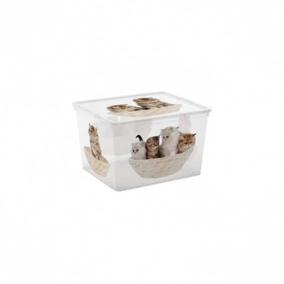 Cutie depozitare, 27 litri, C Box Cube, Puppy&Kitten