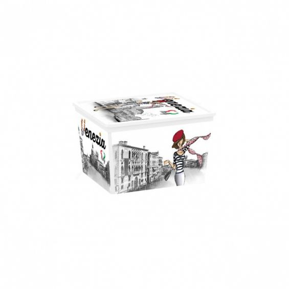 Cutie depozitare, 27 litri, C Box Cube, Viva Italia