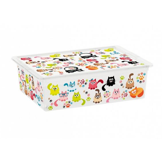 Cutie depozitare, 27 litri, C Box, Cute Animals L