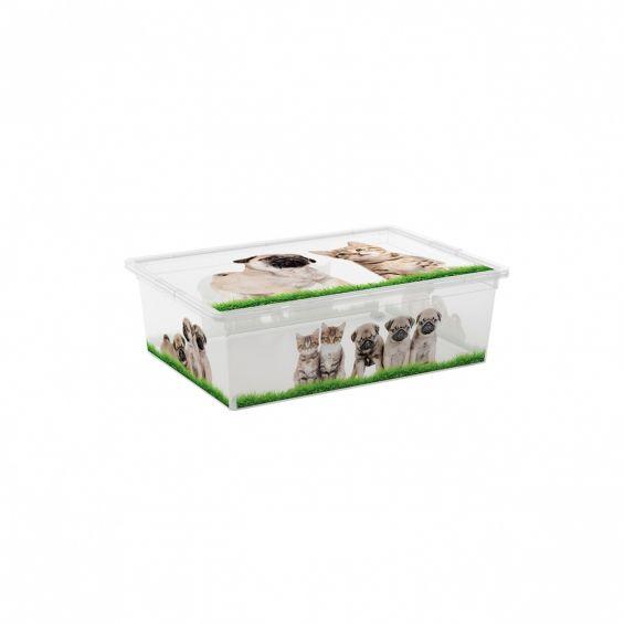 Cutie depozitare, 27 litri, C Box, Puppy&Kitten L