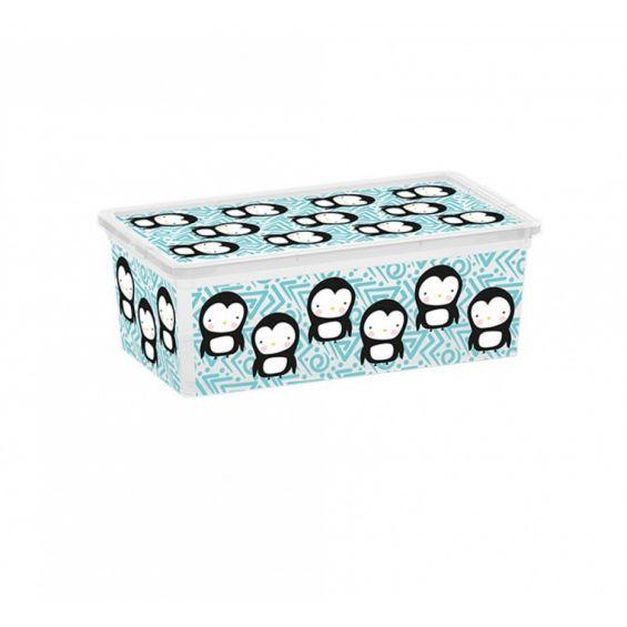 Cutie depozitare, 6 litri, C Box, Cute Animals XS