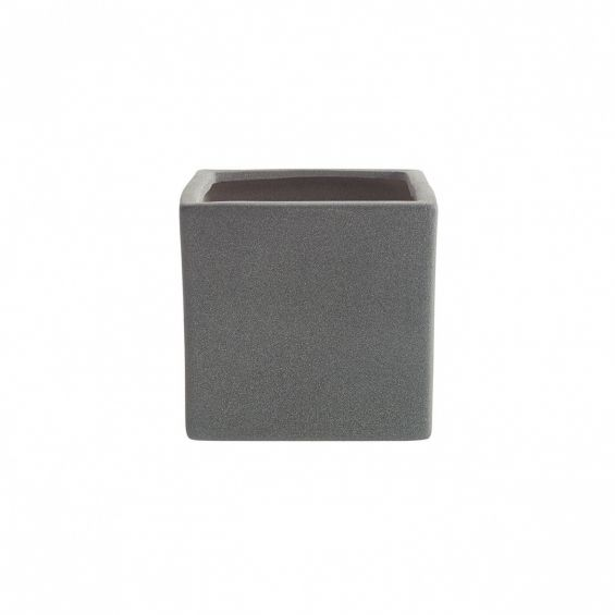 Ghiveci ceramica, aspect piatra, Latina