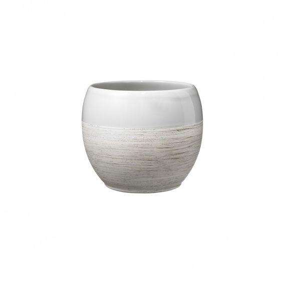 Ghiveci ceramica, cu bordura, Alberta