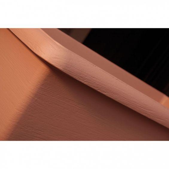 Ghiveci pentru perete, cu suport, Terrae, diametru 31 cm, maro teracota