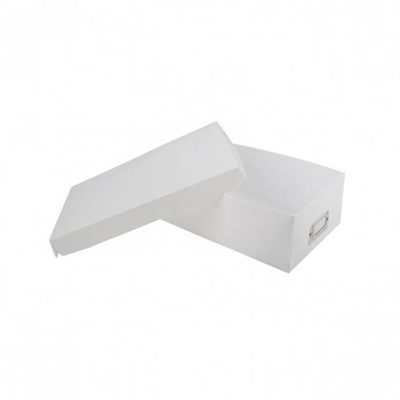 Set 3 cutii cu capac, 30x18 cm