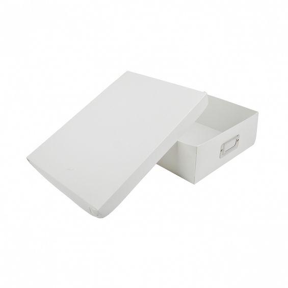 Set 3 cutii cu capac, A 4, 30,5x23 cm