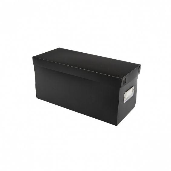 Set 3 cutii cu capac, pentru CD-uri, 30,5x13 cm