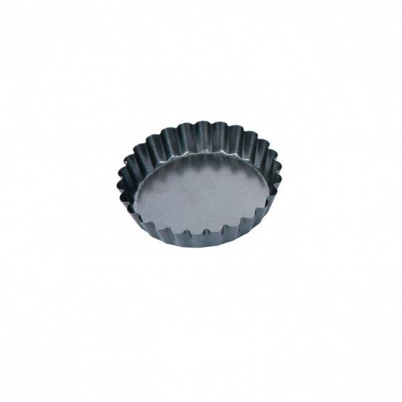 Set 4 tavi pentru minitarte, diametru 10 cm, Delicia