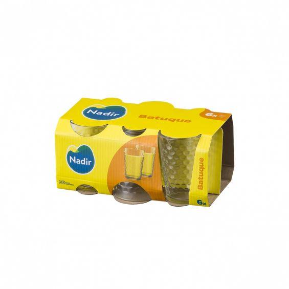Set 6 pahare, 280 ml, Batuque