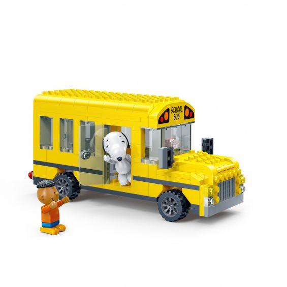 Set constructie Peanuts autobuz, Banbao