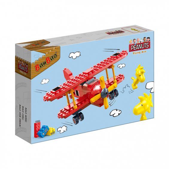 Set constructie Peanuts avion, Banbao