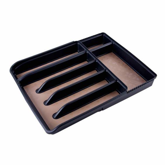 Tava tacamuri, pentru sertar, ajustabila, 5-7 compartimente, Rubbermaid