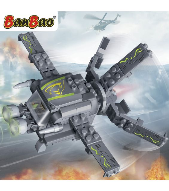 Set constructie Trupele speciale, drona, Banbao