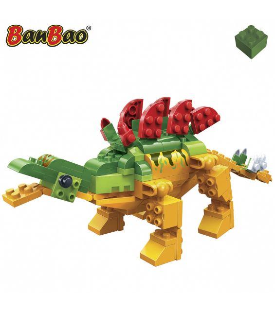 Set constructie Dinozaur patruped, cu creasta, Banbao