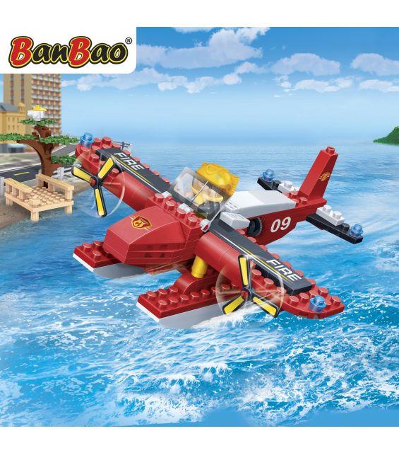 Set constructie Elicopter de coasta pompieri, Banbao